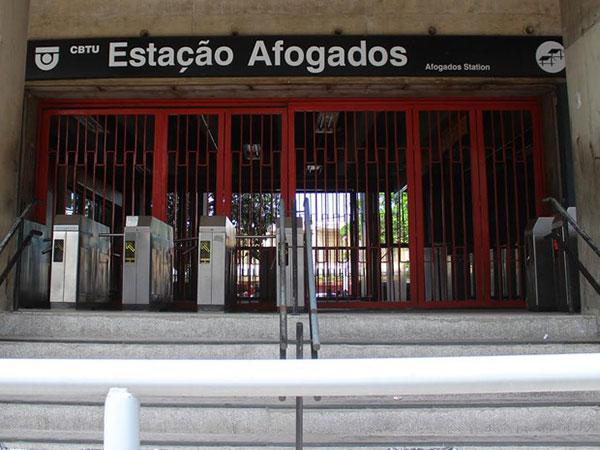 Estação Afogados Metrô Recife