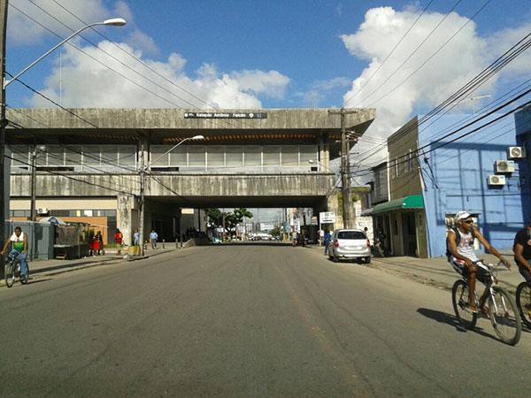 Estação Antônio Falcão - Metrô Recife