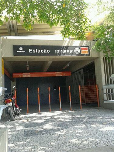 Estação Ipiranga Metrô Recife