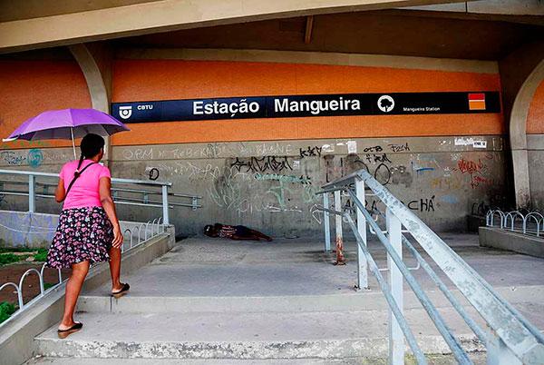 Estação Mangueira Metrô Recife