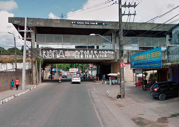Estação Porta Larga - Metrô Recife