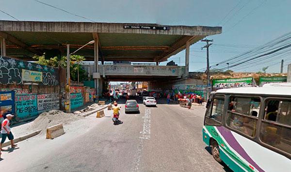 Estação Prazeres - Metrô Recife