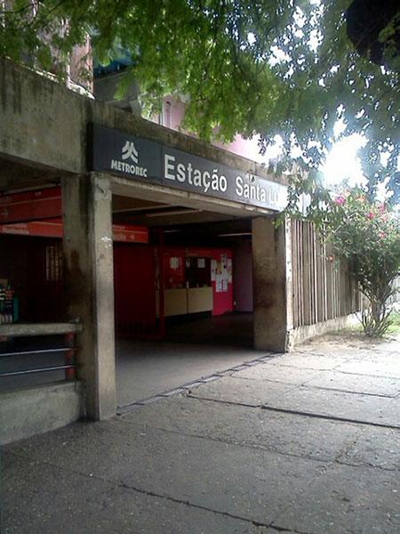 Estação Santa Luzia Metrô Recife