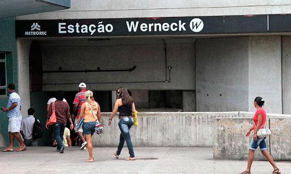 Estação Werneck Metrô Recife